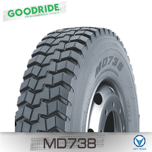 Lốp xe Goodride 295/75R22.5 MD738
